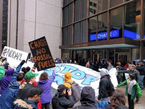 Rally for Chase to divest – MN350