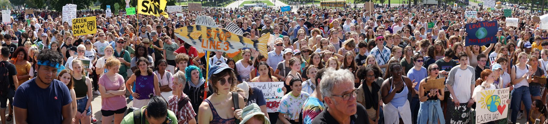 Climate crowd capitol