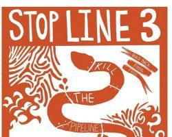 Art Storm to #StopLine3