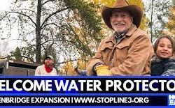 Water protectors gather in Northern Minnesota to stop Line 3
